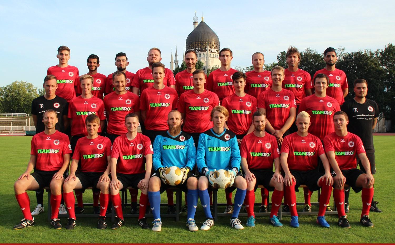 Mannschaftsfoto Dresdner SC 1898 2. Mannschaft Saison 2017/18